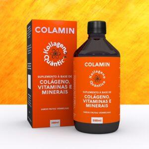 suplemento de colágeno vitaminas b5 e b5 e selênio