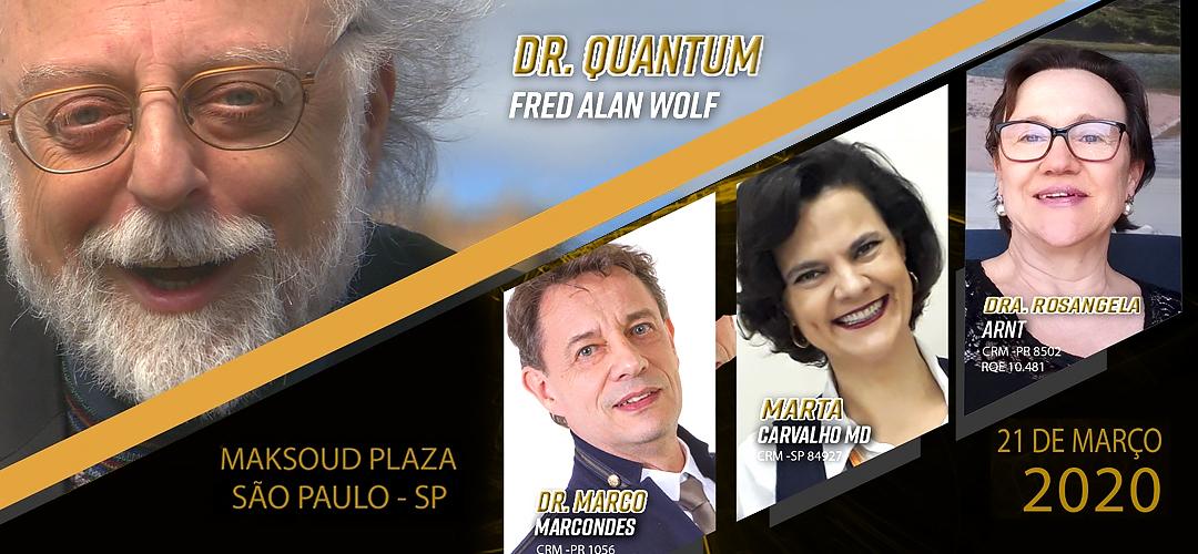 DR. QUANTUM NO BRASIL – ÚNICA APRESENTAÇÃO